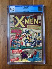 X-MEN #9 Marvel 1/65 CGC 4.0 1st Meeting Of X-Men And Avengers 1st App. Lucifer