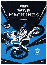 War Machines Blu Ray by Vurb Moto - Brand New Motocross Motorcycle Movie Video
