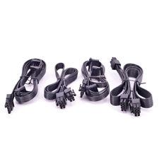 For Cooler Master M520 PCI-e 6+2Pin 6Pin Peripheral 4Pin SATA Power Supply Cable