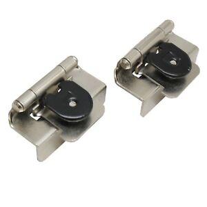 """LOT 50 AMEROCK CMR8704G10 Steel 1/2"""" Double Demountable Door Hinge Satin Nickel"""
