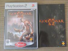 JEU PLAYSTATION 2 PS2   GOD OF WAR II  COMPLET EN FRANCAIS