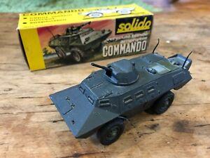 Solido - Commando Vehicule Binde Amphybie - Ref 224 Diecast Military Vehicle