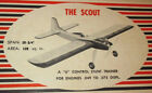 Model Airplane Plans (UC): Vintage 1950 Veco SCOUT Stunt .049-.075 by Joe Wagner