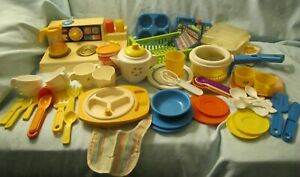 Fisher Price Kitchen In Other Fisher Price Preschool Toys 1963 Now For Sale Ebay