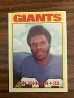 1972 Topps #207 Ron Johnson New York Giants  NrMt