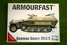 Armourfast German Ww2 Hanomag SdKfz 251/1 1/72 Scale Model X 2 Kits No 99019