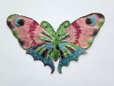 TURMAC Tobacco Cigarette Embroidery Silk BUTTERFLIES (large) A30