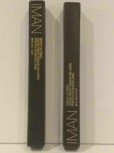 IMAN Cosmetics Perfect Lip Pencil MIDNIGHT .05 oz ( LOT OF 2 ) New In Box