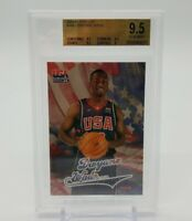 2004 Fleer DWYANE WADE USA Basketball #NNO RC BGS 9.5 GEM Mint Grade Miami Heat
