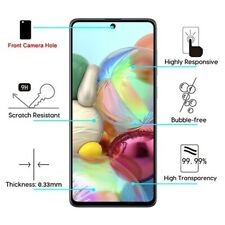 Samsung Galaxy A71 5G Tempered Glass FULL Coverage Screen Protector Curved Guard