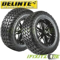 2 Delinte DX9 Bandit M/T 35X12.50R20LT 121Q 10PR M+S Off-Road Mud Tires