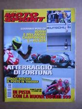 MOTOSPRINT n°30  2002     [Q30] IN PISTA CON LA NUOVA DUCATI 999