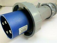 Mennekes ME460P9W - 1109 Pin and Sleeve Receptacle Plug 60a 4w 250vac IP67