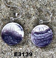 E3139 Wampum Earrings Dangle