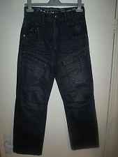 ETO Denim 9901 Mens Indigo 7-Pocket Denim Jeans Size 28? Zip Fly BNWT*