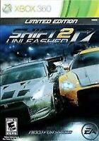 Shift 2 Unleashed Xbox 360 Kids Game Limited Edition Car Racing Need For speed