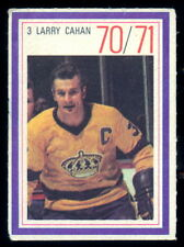 1970-71 ESSO POWER PLAYERS NHL #3 LARRY CAHAN EX COND L A KINGS  UNUSED STAMP