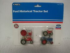 NOS 1991 ERTL Ford New Holland Historical Mini Tractor Set #862-FAST SHIPPING!