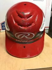 "Rawlings Cfbhn-R1 Cool Flo Red Batting Helmet Size 6 1/2"" - 7 1/2"""
