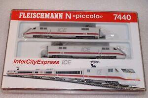 N Gauge Fleischmann DB ICE 2-Car Set --- Boxed 7440