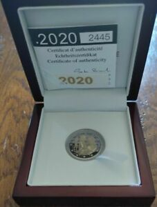 2 Euro LUXEMBOURG 2020 BELLE EPREUVE Naissance Prince Charles 2500 EX N° 2445