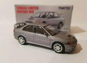 Tomica Limited Vintage - Mitsubishi Lancer GSR Evolution IV [SILVER] NEAR MINT