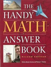 The Handy Answer Book: The Handy Math Answer Book by Patricia Barnes-Svarney...