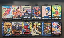 Sega Mega Drive Games Bundle ! X 12