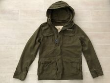 NEW Hollister by Abercrombie & Fitch Men's Military Spring Jacket - Olive - S