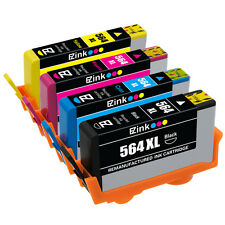 4PKs Ink Cartridge For HP 564XL Photosmart 5510 5511 5512 5514 5515 5520 C5373