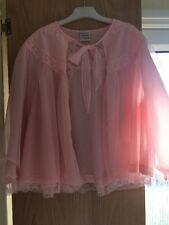 Vintage Baby Pink Nylon bedjacket