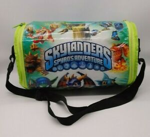 Skylanders Spyro's Adventure Large Vinyl Carrying Case Storage Bag With Strap