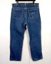vtg 80s Levis 509 USA Straight Leg Denim Jeans Orange Tab 40509 0215 sz 39 X 30