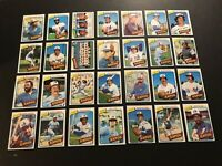 1980 Topps MONTREAL EXPOS Complete TEAM Set ANDRE DAWSON Gary CARTER Tony PEREZ