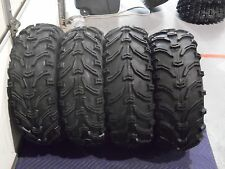 "2004-2013 YAMAHA RHINO 660 BEAR CLAW 25"" ATV TIRES (SET 4) 25X8-12 25X10-12"