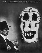 IN VOLUPTATE MORS ART PRINT BY PHILIPPE HALSMAN Salvador Dali photograph poster