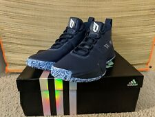 Adidas SM Dame 5 Team Men's size 13 New Navy White Bounce Lillard Free Shipping