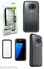 Genuine Otterbox Symmetry DropProof Clear Black Case Cover For Samsung Galaxy S7