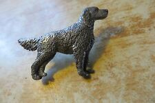 original English setter dog wildlife collectible pewter George Harris signed pin