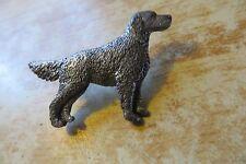 original English setter dog wildlife collectible pewter George Harris signed pin