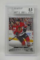2011-12 Upper Deck #462 Jimmy Hayes YG Rookie Blackhawks 🔥Beckett 8.5 NM MT+
