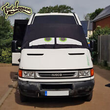 Iveco Black Out Blind Window Screen Cover Camper Van Curtains Wrap Eyes Green