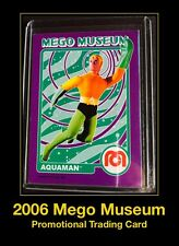 MEGO MUSEUM Aquaman Batman DC Hall Of Justice League 70's Doll WGSH Trading Card