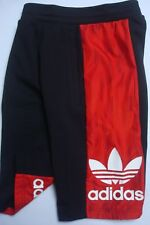 BRAND NEW ADIDAS ORIGINALS BLACK RED TEORADO RUN 2 SHORTS SHORTS XXL COTTON