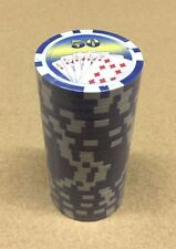 25pc Poker Chips 11.5 Gram Blue $50 Poker Chips w/ FREE Shipping
