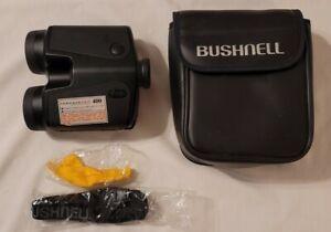 Bushnell Yardage Pro 400 Laser Rangefinder Binoculars w Case, Strap, WORKS