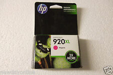HP 920XL High Capacity Ink Cartridge Magenta 700-Pages Exp:09/2015 CD973AN NEW