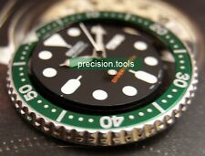 Green Bezel Insert 0968 For 7S26 SCUBA Diver SKX 007 009 Submariner 16610LV Look