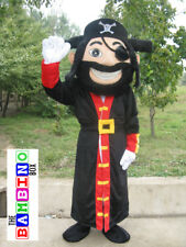 Pirate Costume Fancy Dress Mascot / Jack Sparrow Peppa Suit