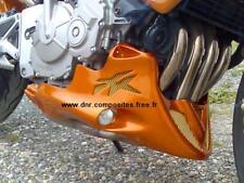 sabot moteur/belly pan pour honda 600 hornet2005 et 2006 couleur YR 254M
